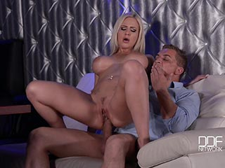 Hank armstrong anna malle in hot radio station sex